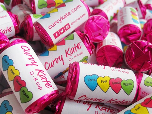 100 x Personalised Love Hearts Wedding Favours Sweets ~ Just Married Free P/&P!